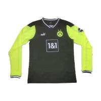 Borussia Dortmund Soccer Jersey Fourth Away Long Sleeve Replica 2021