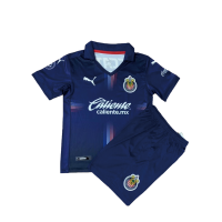 Chivas Guadalajara Kid's Third Away Kit (Jersey+Shorts) 2020/21
