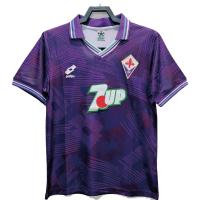 Fiorentina Retro Soccer Jersey Home Replica 1992/93