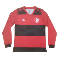 Flamengo Soccer Jersey Home Long Sleeve Replica 2021/22
