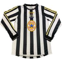 Newcastle Retro Soccer Jersey Home Long Sleeve Replica 1997/99