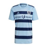 Sporting Kansas City Soccer Jersey Home (Player Version) 2021