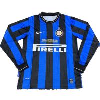 Inter Milan Retro Soccer Jersey Home Long Sleeve Replica 2009/10