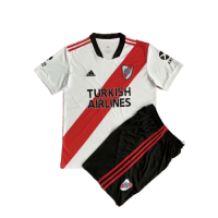 River Plate Kid's Home Kit (Jersey+Shorts) 2020/21