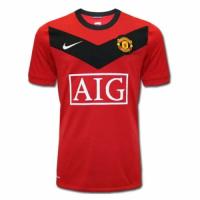 Manchester United Retro Soccer Jersey Home Replica 2009/10