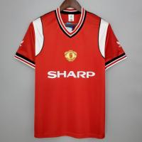 Manchester United Retro Soccer Jersey Home Replica 1985