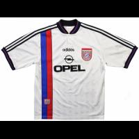 Bayern Munich Retro Soccer Jersey Away Replica 1995/96