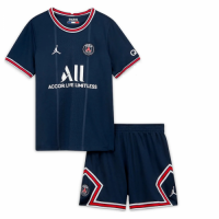 PSG Kid's Soccer Jersey Home Kit (Shirt+Short) 2021/22