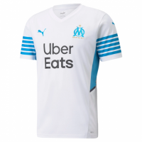 Marseilles Soccer Jersey Home Replica 2021/22