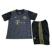Bayern Munich Kid's Soccer Jersey Away Kit (Jersey+Short) 2021/22