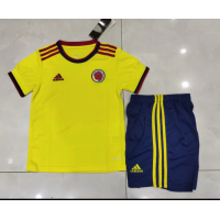 Colombia Kid's Soccer Jersey Home Kit (Jersey+Short) 2020