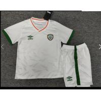 Ireland Kid's Soccer Jersey Away Kit (Jersey+Short) 2020/21