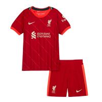 Liverpool Kid's Soccer Jersey Home Kit (Jersey+Short) 2021/22