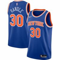 Men's New York Knicks Julius Randle #30 Nike Blue 202021 Swingman Jersey - Icon Edition