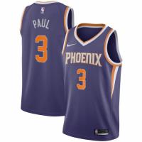 Men's Phoenix Suns Chris Paul #3 Nike Purple 2020/21 Swingman Jersey - Icon Edition