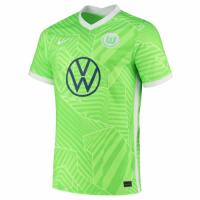 Wolfsburg Soccer Jersey Home Replica 2021/22