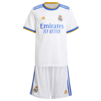 Real Madrid Kid's Soccer Jersey Home Kit (Jersey+Short) 2021/22