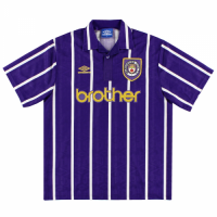 Manchester City Retro Soccer Jersey Away Replica 1992/94