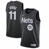 Men's Brooklyn Nets Kyrie Irving Nike Black 2020/21 Swingman Player Jersey – Earned Edition