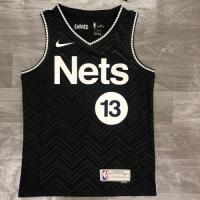 Men's Brooklyn Nets James Harden Nike Black 2020/21 Swingman Player Jersey – Earned Edition