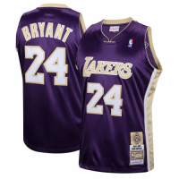 Men's Los Angeles Lakers Kobe Bryant #24 Mitchell & Ness Purple Hall of Fame Class of 2020 Jersey