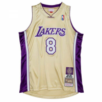 Men's Los Angeles Lakers Kobe Bryant #8 Mitchell & Ness Gold Hall of Fame Class of 2020 Jersey