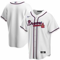 Men's Atlanta Braves Nike White Home Replica Team Jersey