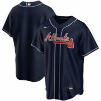 Men's Atlanta Braves Nike Navy Alternate Replica Team Jersey
