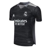 Real Madrid Soccer Jersey Goalkeeper Black Replica 2021/22