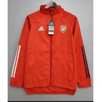 Arsenal Windbreaker Hoodie Jacket Red 2021/22