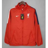 Liverpool Windbreaker Hoodie Jacket Red 2021/22