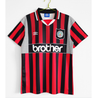 Manchester City Retro Soccer Jersey Away Replica 1994/96