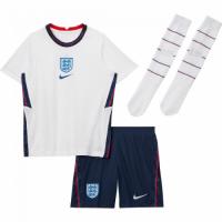 England Kid's Soccer Jersey Home Whole Kit (Shirt+Short+Socks) 2021