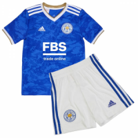 Leicester City Kid's Soccer Jersey Home Kit (Jersey+Short) 2021/22