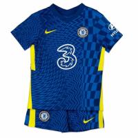 Chelsea Kid's Soccer Jersey Home Kit (Jersey+Short) 2021/22