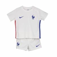 France Kid's Soccer Jersey Away Kit (Shirt+Short) 2020