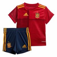Spain Kid's Soccer Jersey Home Kit (Shirt+Short) 2020