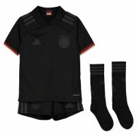 Germany Kid's Soccer Jersey Away Whole Kit (Shirt+Short+Socks) 2021