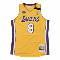 Men's Los Angeles Lakers Home Final Kobe Bryant #8 Mitchell & Ness Yellow 1999-00 Hardwood Jersey