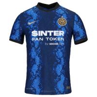 Inter Milan Soccer Jersey Home (Player Version) 2021/22