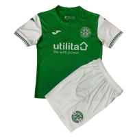 Hibernian Kid's Soccer Jersey Home Kit(Jersey+Short) 2021/22