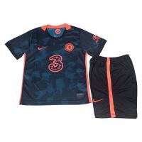 Chelsea Kid's Soccer Jersey Third Away Kit (Jersey+Short) Replica 2021/22