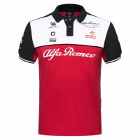 Alfa Romeo Sauber F1 Racing Team Polo Red 2021