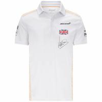 McLaren F1 Racing Team Lando Norris Polo Whtie 2021
