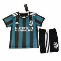 La Galaxy Kid's Soccer Jersey Away Kit (Shirt+Short) Replica 2021