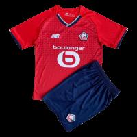 Lille OSC Kid's Soccer Jersey Home Kit(Jersey+Short) Replica 2021/22