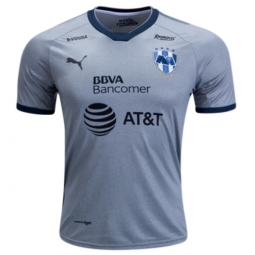 huge discount 69eae 2ba0e 2018 Monterrey Third Away Gray Soccer Jersey Shirt