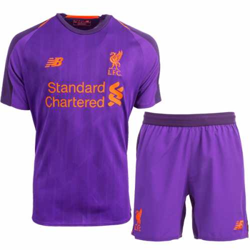 DV Liverpool FC 18//19 Away Kids Football Shorts