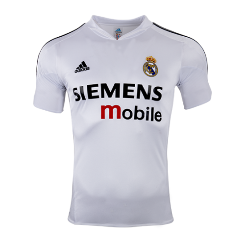 a48a6b55c 04-05 Real Madrid Home Classic Retro Soccer Jersey Shirt - Cheap ...