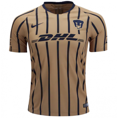 18-19 UNAM Pumas Away Gold Soccer Jersey Shirt - Cheap Soccer ... 69edeac4f
